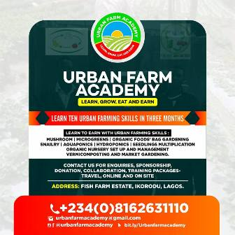 ENROLL TO URBAN FARM ACADEMY (SPONSORED)