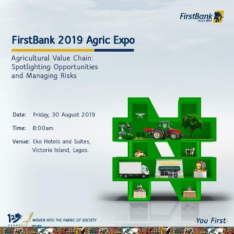 Apply And Attend The First Bank 2019 Agric Expo